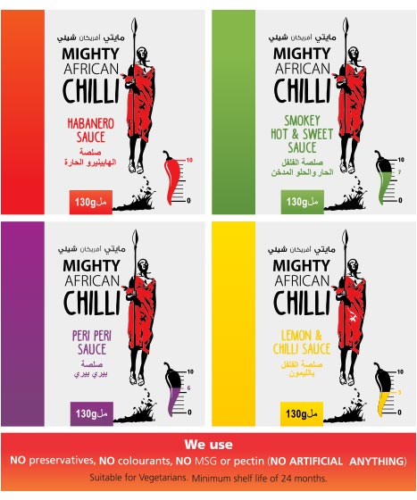 Mighty Chilli Products